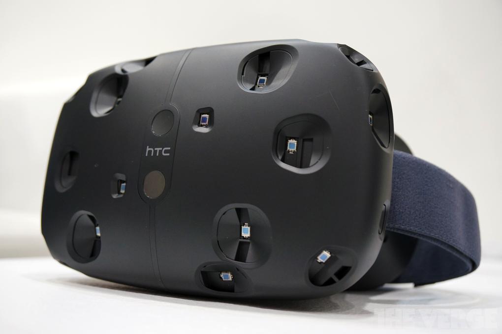 Htc Vive, le casque de réalité virtuelle par HTC en partenariat avec Valve