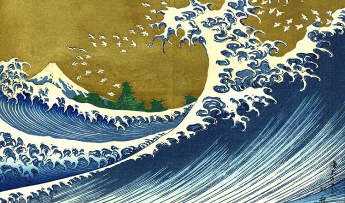 Oeuvre de Hokusai : artiste peintre et graveur japonais