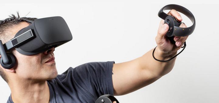 L'Oculus Rift, avec l'Oculus Touch en version démo