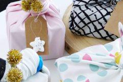 diy emballage cadeau tissu